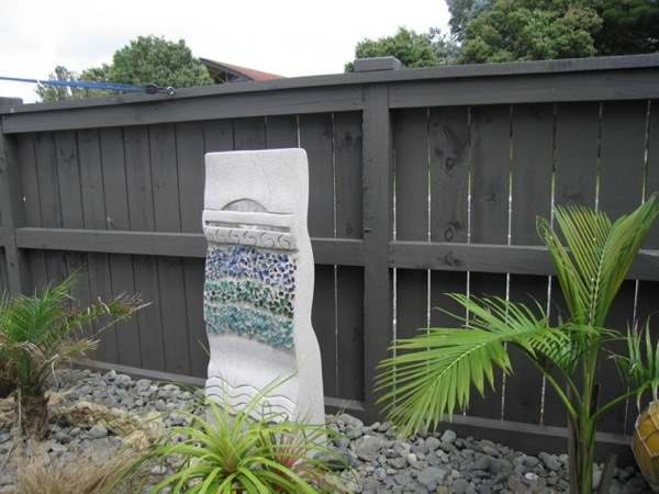 Paradise design sculpture display ideas for New zealand garden designs ideas
